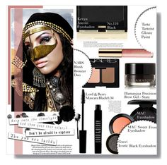 """""""Got That Dark Killing Eyes-TOP Beauty Sets Of The Week"""" by luna-jancek ❤ liked on Polyvore featuring beauty, Lord & Berry, Illamasqua, MAC Cosmetics, Gucci, Kevyn Aucoin, NARS Cosmetics, tarte and Anja"""