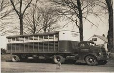 Starting in 1934, Son and his father ran a livestock trucking business that evolved from work E.A. had done hauling garbage from Camp Grant during World War I.  By 1941, Son took over the business and renamed it E.C. Sarver Livestock Trucking.