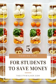 5 tips to help college students save time and money College Student Budget, College Students, Basic Cooking, Cooking Tips, Food Tips, Food Hacks, Ramen Food, Ramen Recipes, No Cook Meals