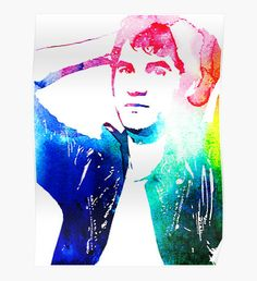 Darren Criss rainbow poster