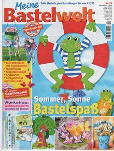 Bastelwelt - Angela Lakatos - Picasa Webalbumok Workshop, Album, Decorative Tile, Paper Cutting, Diy And Crafts, Archive, Family Guy, Education, Summer