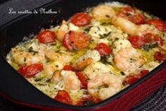 Garnalen knoflook-feta-and-cherry tomaten Crust - WordPress Website Feta, Pasta Recipes, Dinner Recipes, Cooking Recipes, Easy Healthy Recipes, Easy Meals, Confort Food, Health Dinner, Entrees