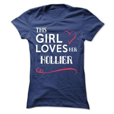 [Best Tshirt name tags] This girl loves her HOLLIER  Top Shirt design  This girl loves her HOLLIER  Tshirt Guys Lady Hodie  SHARE and Get Discount Today Order now before we SELL OUT  Camping girl loves her hollier sweatshirt nee this girl