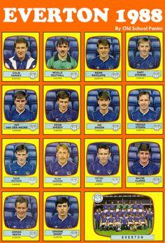 #Figuritas Everton FC 1988