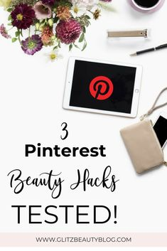 Do you like Pinterest as much as I do? I've beenobsessedwith the platform lately and I've been spending a lot of time searching for recipes, room decor,fashion and beauty hacks. Oh boy, there are TONS of beauty hacks,so after trying a few, here are 3 Pinterest beauty hacks that I tested and here are my thoughts. #beautyhacks