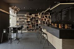 Divino Wine Bar by suto interior architects, Budapest