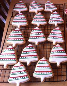 Holiday sugar cookies... bells
