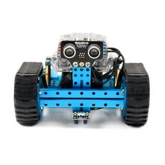 Makeblock mBot Ranger is a model for an indiviual assemble of a robot transformer which supports 3 building forms: robot tank, three-wheeled racing car, and a self-balance car. Program and control your robot via a tablet, laptop or iPad. Create Your Own Robot, Stem Robotics, Educational Robots, Robot Kits, Science Toys, Robot Design, Learning Toys, Courses, Linux
