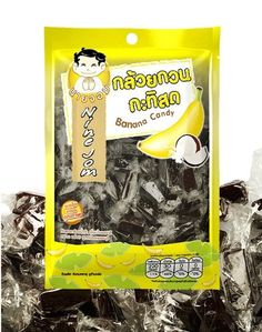 Nine Jom  Banana  Coconut Candy Healthy Snack Thai Style 212 Oz Best Seller of Thailand -- Visit the image link more details. Note: It's an affiliate link to Amazon