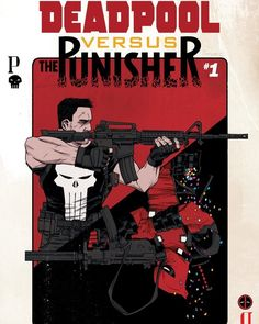 """#Deadpool #vs. The #Punisher """"Bullet to the Brain"""" debuts in April written by Fred Van Lente with #art by Pepe Perez.  In an interview with Marvel.com the writer talks about his the characters' genuine distaste for one another. Says Van Lente of the upcoming series: """"Oh they do not like each other particularly from their Thunderbolts days...I mean to me the gold standard for these kinds of versus comics is Christopher Priest and Mark Brights Spider-Man vs. Wolverine where the two characters…"""