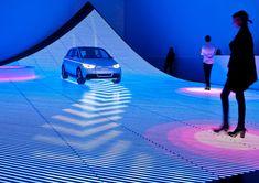 audi interactive digital floor