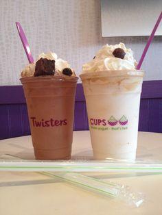 Ice Cream Cake Shakes And Waffle Cones Vanilla Birthday
