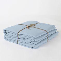 Vintage Linen Flat Sheet | Bed Sheet for Summer - linenshed