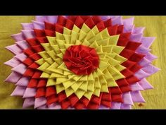 How to make doormat at home - Doormat Making - DIY doormat making idea - DIY home projects Hello Friends Today in this video, I would like to show how to make amazing doormats using clothes & jute rug at home. This video also gives the ideas about of - Small Sewing Projects, Diy Craft Projects, Craft Ideas, Fabric Flower Tutorial, Fabric Flowers, Diy Arts And Crafts, Diy Crafts Videos, Matchstick Craft, Recycled Rugs