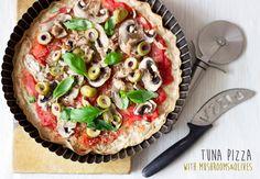 """Bez Papriky: Tuňáková """"pizza"""" bez mouky"""