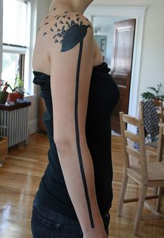 milkweed tattoo. incredible.