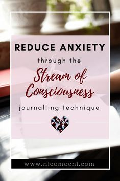 One common that is recommended for those of us with disorders is stream of consciousness However, stream of consciousness writing is something that is beneficial not only for reducing anxiety disorder symptoms, but reducin Anxiety Causes, Anxiety Remedies, Anxiety Tips, Social Anxiety, Anxiety Relief, Stress And Anxiety, Health Anxiety