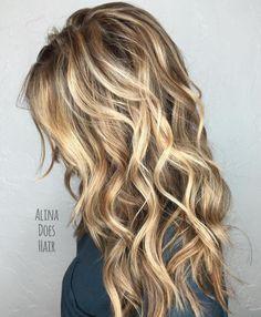 Long Layered Sandy Blonde Hair