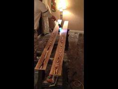Burning Wood Floor