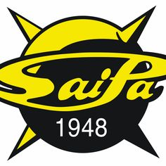 Saimaan Pallo (SaiPa) Primary Logo on Chris Creamer's Sports Logos Page - SportsLogos. A virtual museum of sports logos, uniforms and historical items. Hockey Logos, Sports Logos, Computerized Embroidery Machine, Sporting Live, Book Making, Scores, First Love, Embroidery Files, Caps Hats