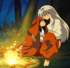 This was my very first of Inuyasha. The whole summer, I watched the anime from episode 1 to The Final Act and the movies in the english version (wh. InuYasha: A new Beginning Amor Inuyasha, Inuyasha Fan Art, Inuyasha Love, Inuyasha And Sesshomaru, Kagome And Inuyasha, Inuyasha Quotes, Miroku, Kagome Higurashi, Manga Anime