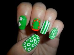 St. Patrick's Day 2012 nails