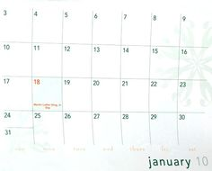 I've received a new calendar in the mail today! - News - Bubblews