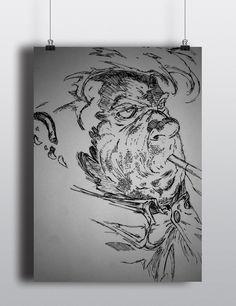 http://gl0uf.deviantart.com/art/Sam-Burke-Spawn-566883380