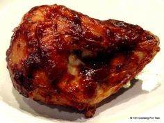 A simple method for a great oven baked BBQ chicken breast. This requires a cooking skill level of 2/10. You can do it.