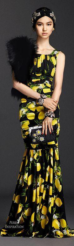 Dolce & Gabbana SS2016 Sera Collection | Purely Inspiration