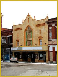 Vintage theater in Independence, Kansas