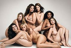 These women are described as plus size. No way. This is NORMAL.