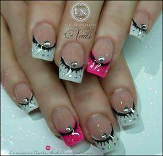 Nail art ideas | french manicure designs | nail art short nails