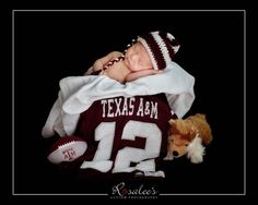 Ok you know what I could change the team to...really....UT newborn photos, sports themed newborn photos #baby #photography #newborn