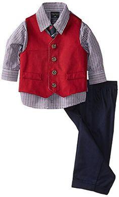 Nautica Baby-Boys Infant Twill Vest Set, Red, 24 Months Nautica http://smile.amazon.com/dp/B00KIJTQO4/ref=cm_sw_r_pi_dp_WdPYub05CBS0T