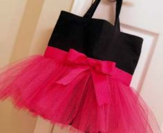 Tutu Tote Bag Tutorial - Love this