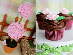 Cute details for a Spring party or baby shower