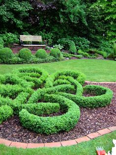 Gartenbuddelei: Knotengarten