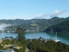 Waimanu Lodge New Zealand. Guest deck view of Whangaroa Harbour. Harbor View, New Zealand, Deck, River, Studio, Outdoor, Outdoors, Decks, Rivers