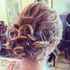 party hair, up styles, bridesmaid hair, braid hairstyl, curl
