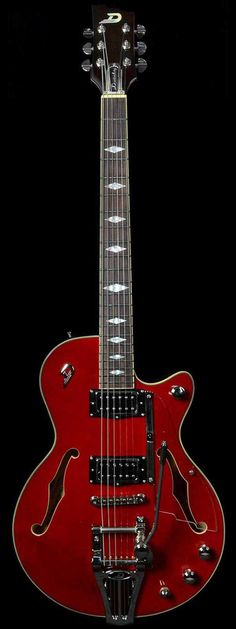 Duesenberg Starplayer TV Deluxe Crimson Red