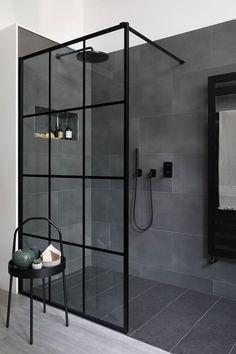 Dream Shower, Spa Shower, Walk In Shower, Walk In Bathroom Showers, Shower Set, Spa Like Bathroom, Bathroom Ideas, Basement Bathroom, Modern Kitchen Interiors