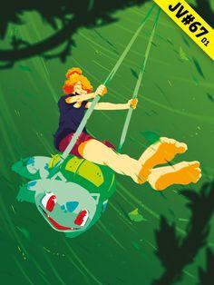 JV#67 par Opreem, version Bulbizarre Tinkerbell, Disney Characters, Fictional Characters, Illustrations, Disney Princess, Art, Art Background, Illustration, Kunst