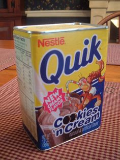 Nestle Quik cookies 'n' cream...do they still make this delicious heavenly goodness???