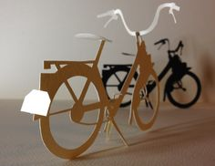 Ebony and Ivory. Moto Scooter, Lotus 7, Paper Art, Paper Crafts, Paper Toys, Goldfish, Paper Cutting, Clothes Hanger, Ivory