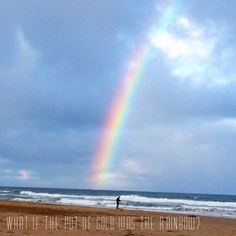 """What if the pot of gold was the rainbow?""  Sometimes we get so busy chasing the dream that we forget to take notice of the endless amazing moments life provides us. Be aware of all the love beauty friendship strength and joy on the journey. Make the rainbow your gold  Photo credit Ange Beeby this stunning shot captured at Wye River Beach over the weekend #morningtonchinesemedicine #rainbows #potofgold #perspective #enjoythejourney #life #awareness #chasethedream #fertility #acupuncture…"
