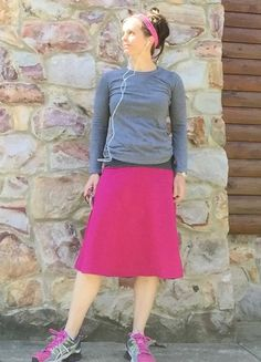 Bandit Skort with SIX pockets modest running skirt with shorts