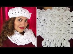 How To Crochet ♥ Scarf Tutorial ♥ Delicate Pattern - YouTube