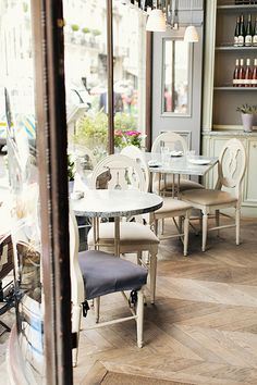 Aubaine, (Many locations, check website) - French dining but perfect for breakfasts and meetings. £££