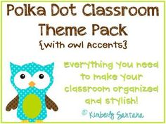 This 102 page packet includes cute and stylish classroom decor accents to make any room organized with a splash of color. This kit is themed around...